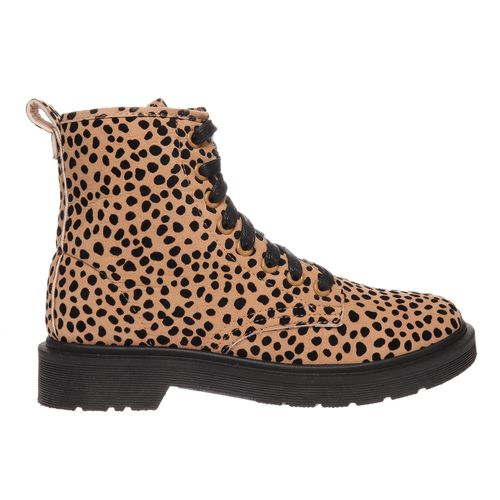 Trending Times Cheetah Lace Up Boots