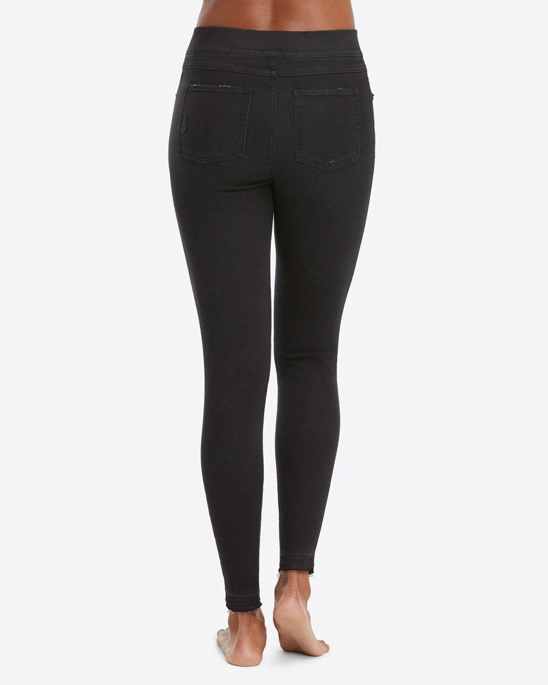 Spanx Distressed Skinny Jean - Vintage Black