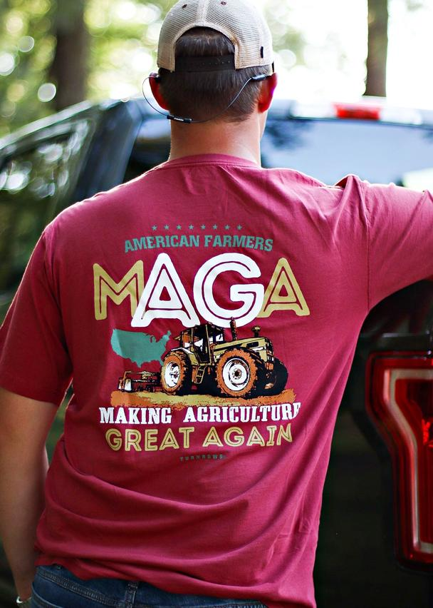 turnrows maga t shirt