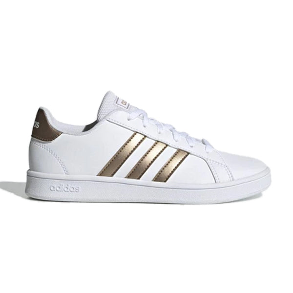 Children's Casual Trainers Adidas Grand Court K White A2l-fashion.com