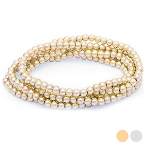 Women's Bracelet with Crystal Pearls 144816