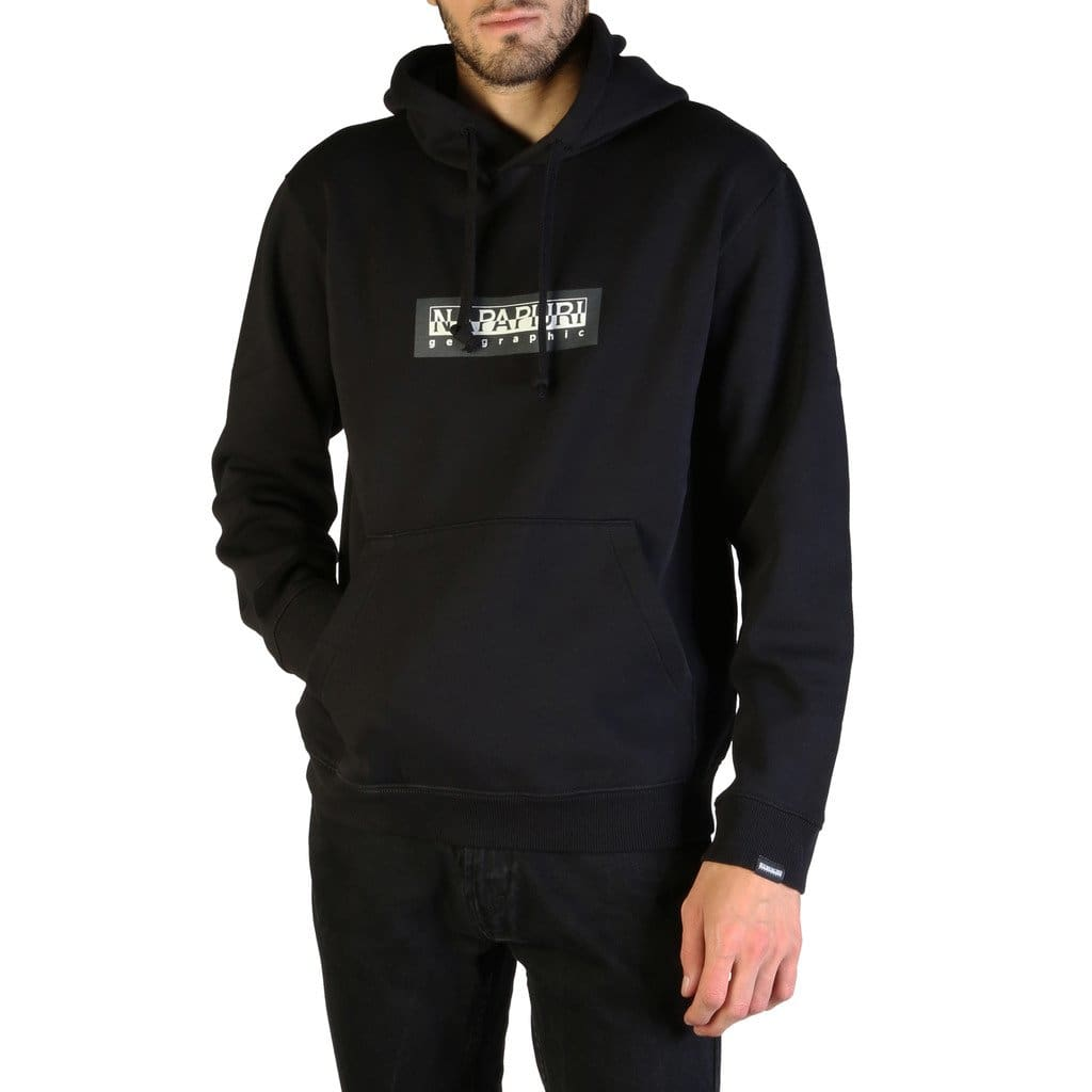 Napapijri - BOX H_N0YKBT - black / XS - Clothing Sweatshirts