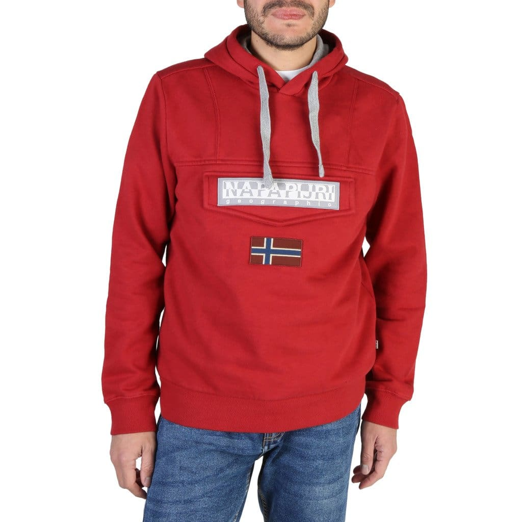 Napapijri - BURGEE2_NP000I7C - red / XXS - Clothing Sweatshirts