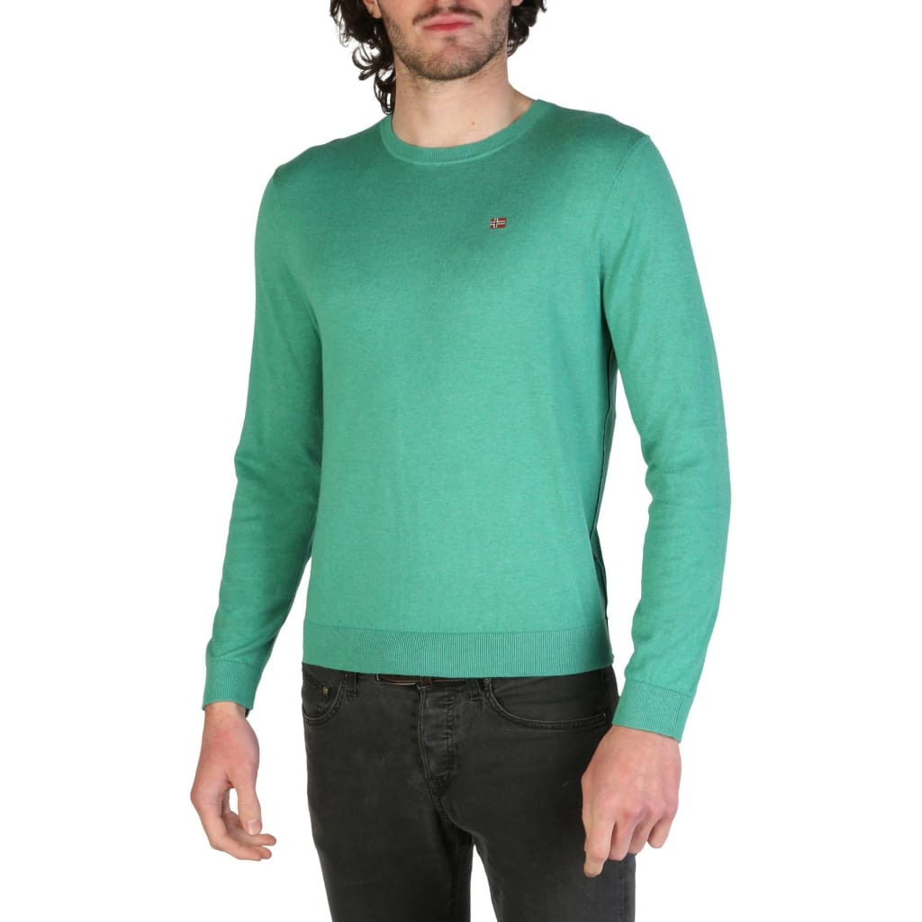 Napapijri - DECATUR_N0YHE6 - green / XL - Clothing Sweaters