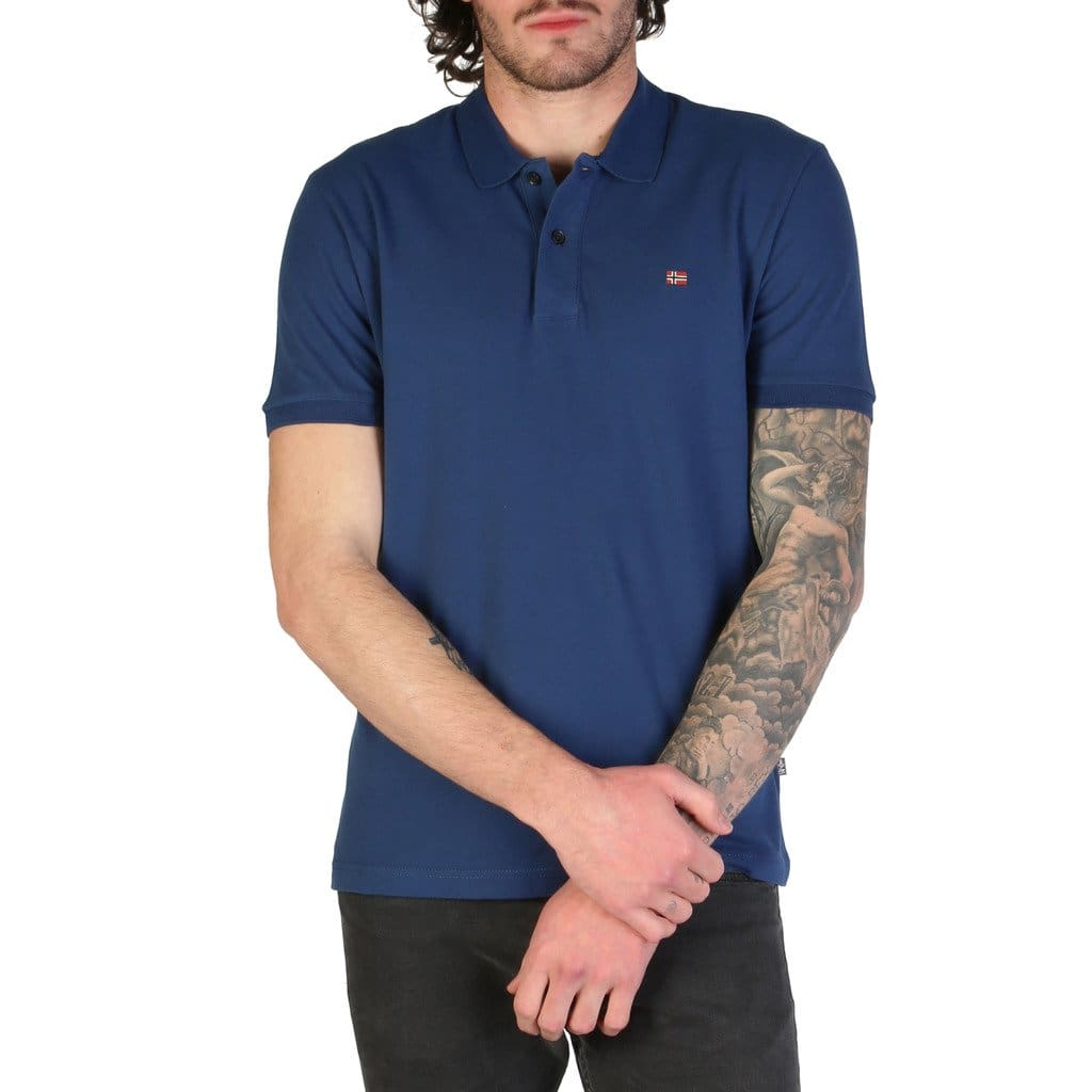 Napapijri - ELIOS_N0YINZ - blue / S - Clothing Polo