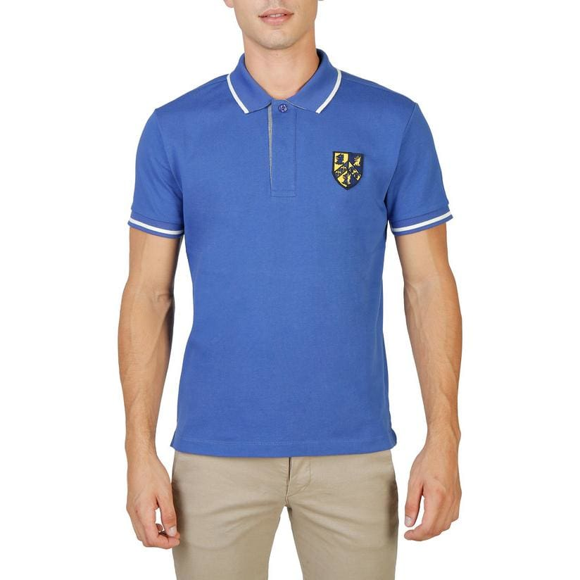 Oxford University - QUEENS-POLO-MM - blue / M - Clothing Polo