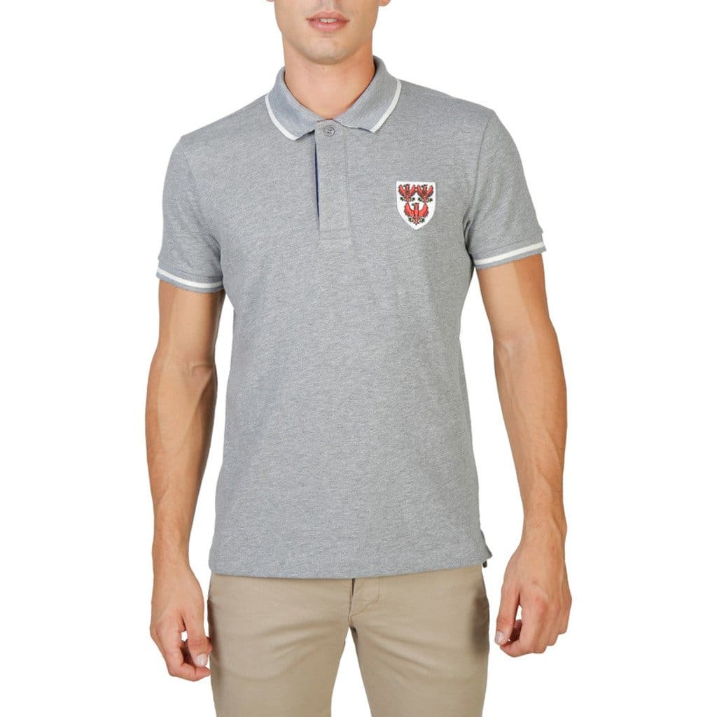 Oxford University - QUEENS-POLO-MM - grey / M - Clothing Polo