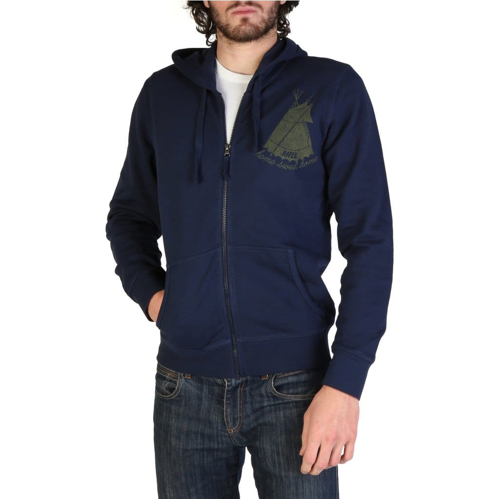 Rifle - L078E_UE77X - blue / S - Clothing Sweatshirts