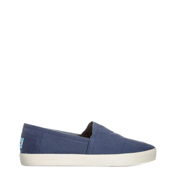 TOMS - CANVAS-NEWOS_10007052 - blue / US 9 - Shoes Slip-on