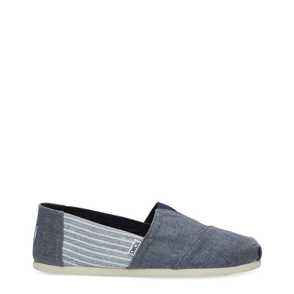 TOMS - DEEP-OCEAN-LINEN - blue / US 10 - Shoes Slip-on