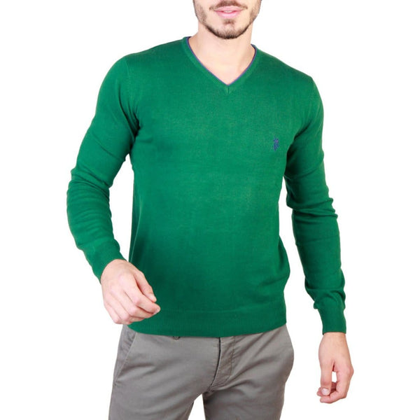 U.S. Polo Assn. - 49811_50357 - green / S - Clothing Sweaters
