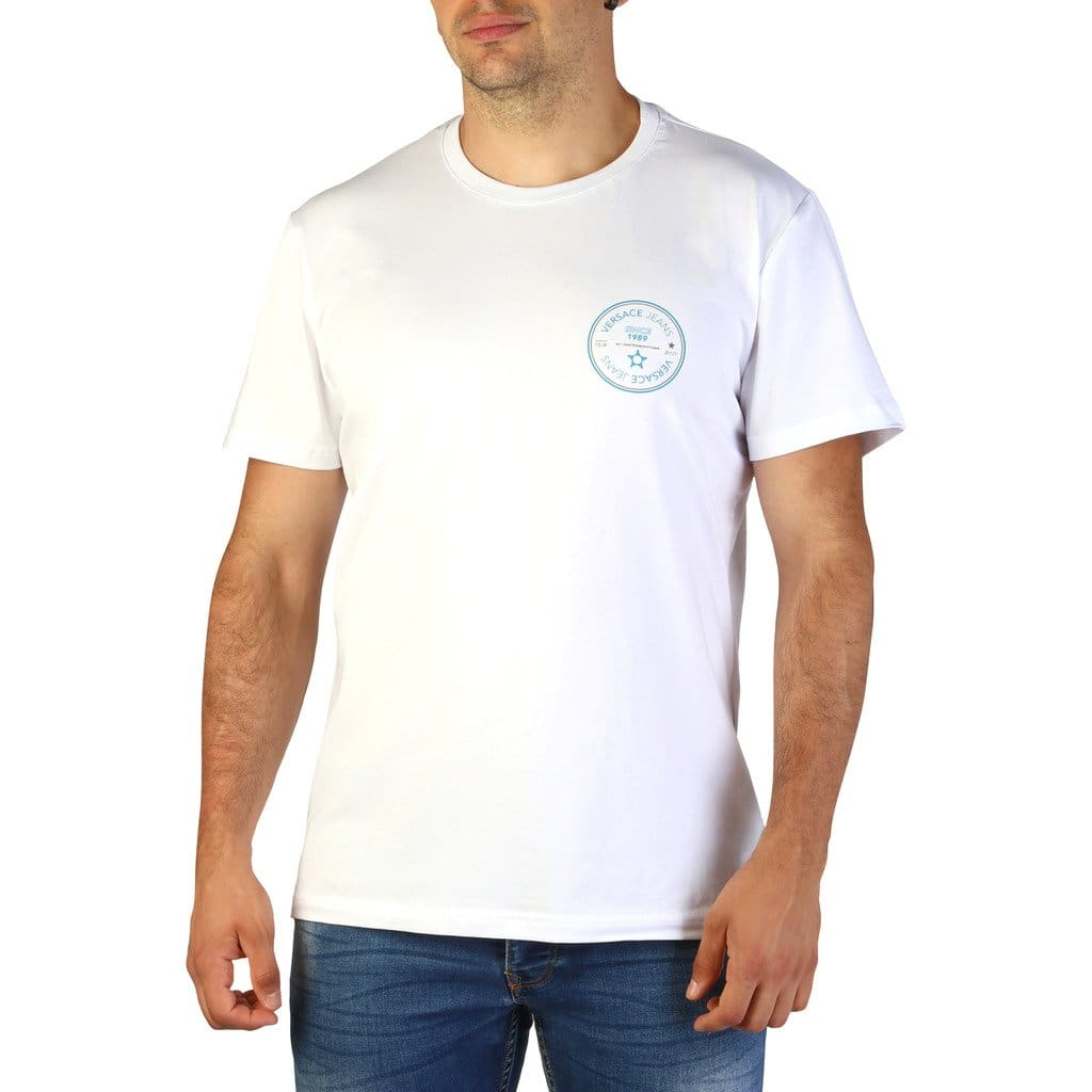 Versace Jeans - B3GTB76S_36620 - white / S - Clothing T-shirts