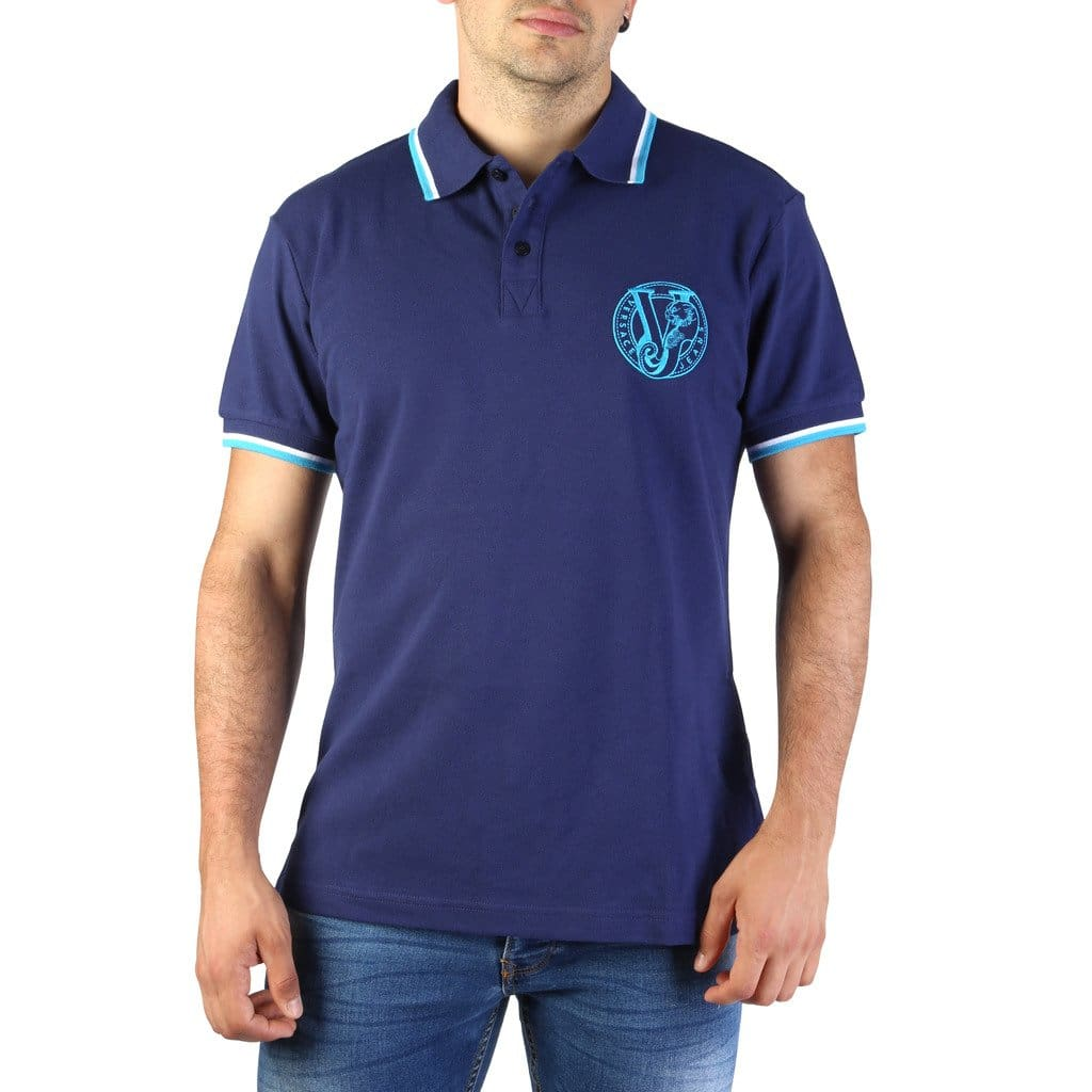 Versace Jeans - B3GTB7P0_36571 - blue / 46 - Clothing Polo
