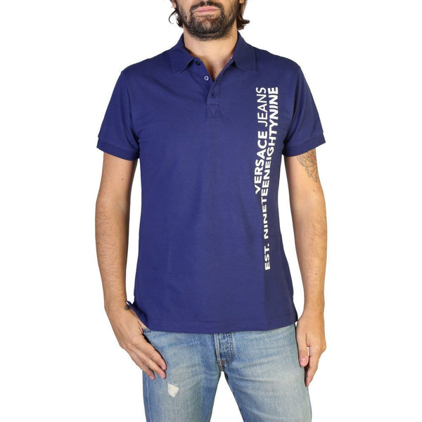 Versace Jeans - B3GTB7P6_36571 - blue / 46 - Clothing Polo
