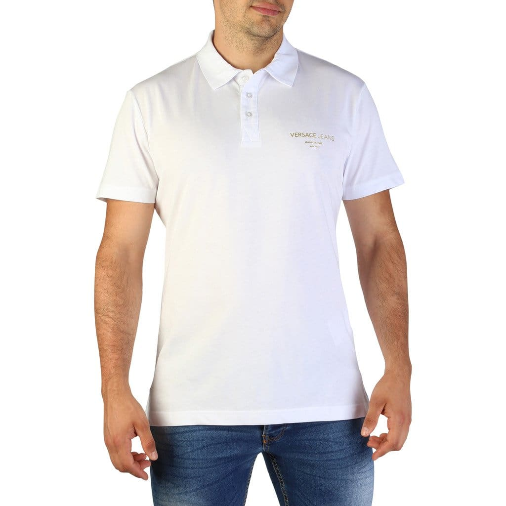 Versace Jeans - B3GTB7P7_36610 - white / 46 - Clothing Polo