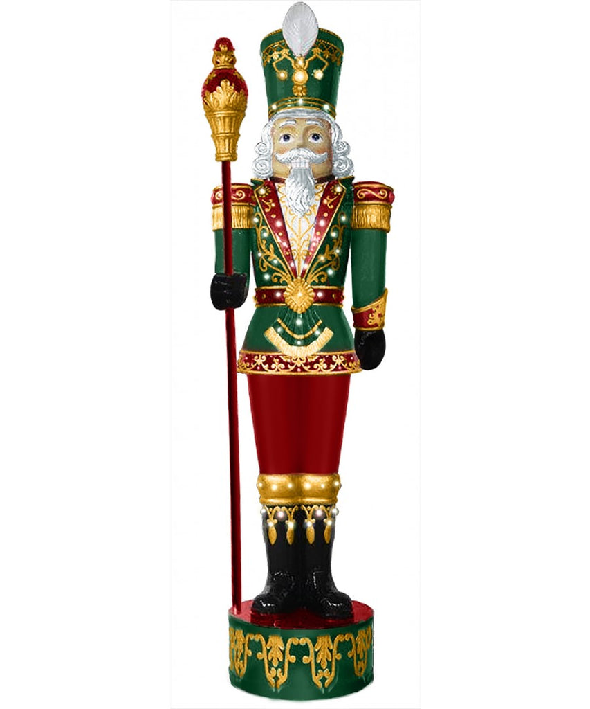 Giant Fiberglass Lit Toy Soldier Prop Decor