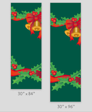 Santa Claus Light Pole Banner