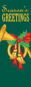 French Horn Light Pole Banner