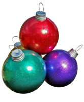 4-Ball Giant Ornament Stack