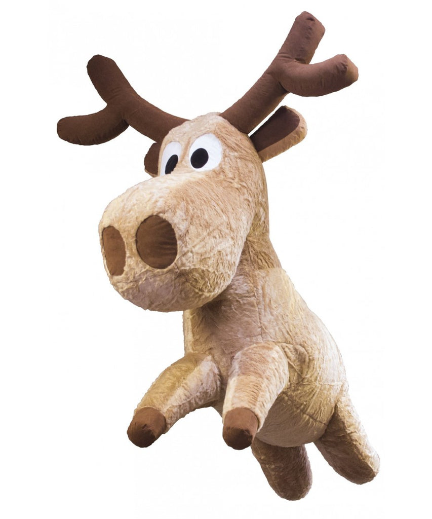 Giant Hanging Inflatable Reindeer Christmas Prop