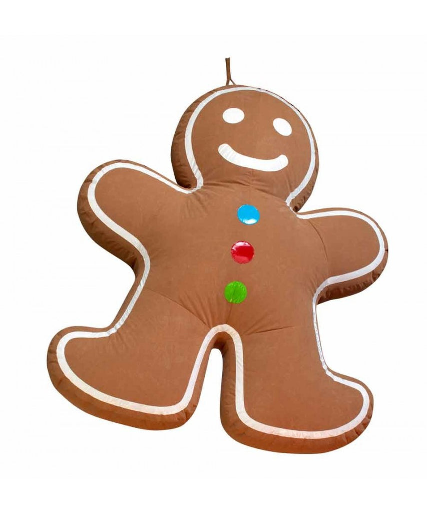 6.6' Hanging Inflatable Gingerbread Man