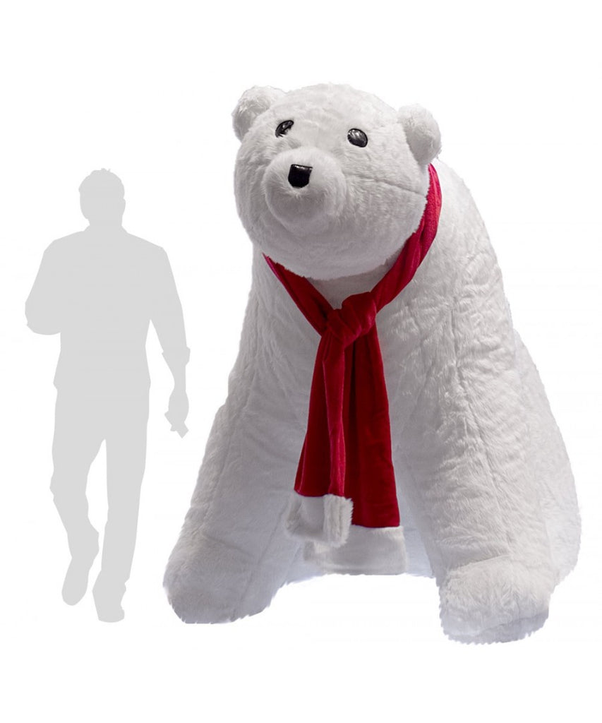 6' Inflatable Polar Bear