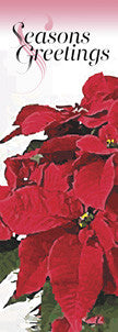 Potted Poinsettia Light Pole Banner