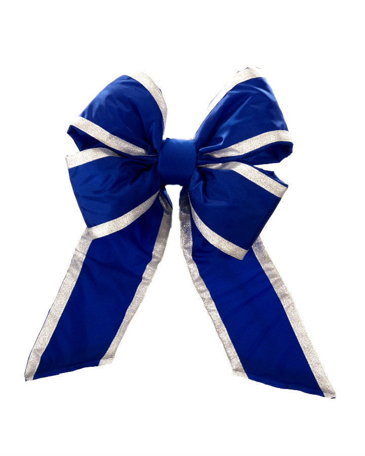 Premium Blue Nylon Bow - Multiple Options