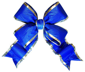 Blue Nylon Bow