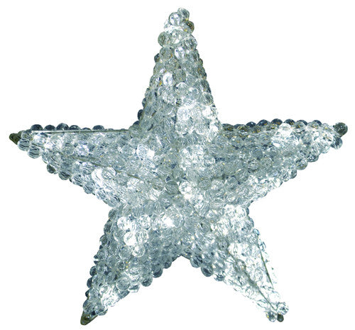 Lit Star Large Christmas Tree Topper