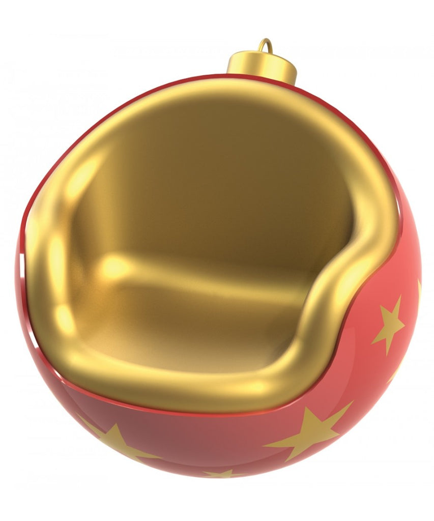 Fiberglass Christmas Bauble Chair