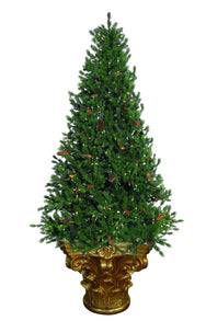 Christmas Tree with Decorative Stand