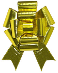 Giant Gold Car Puff Bow