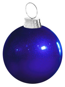 Giant Glitter Ornament