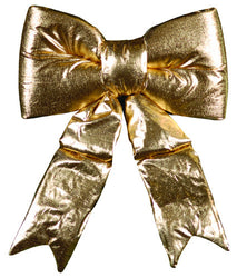 Shiny Gold Satin Bow