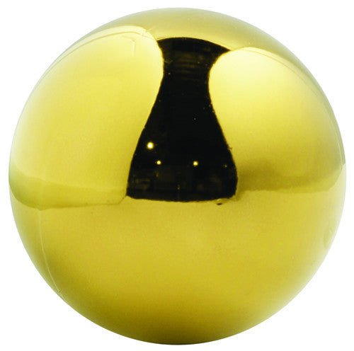 Gold Shiny UV Treated Ball Ornament