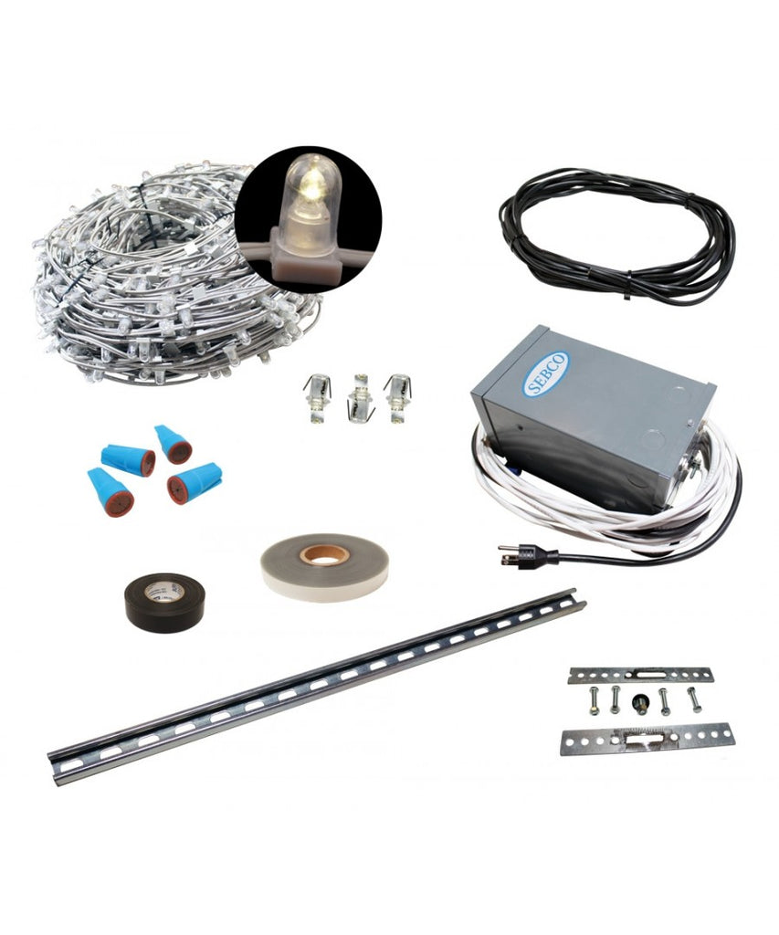 Low Voltage LED Clip Lighting Kits - 110', 220' & 330'