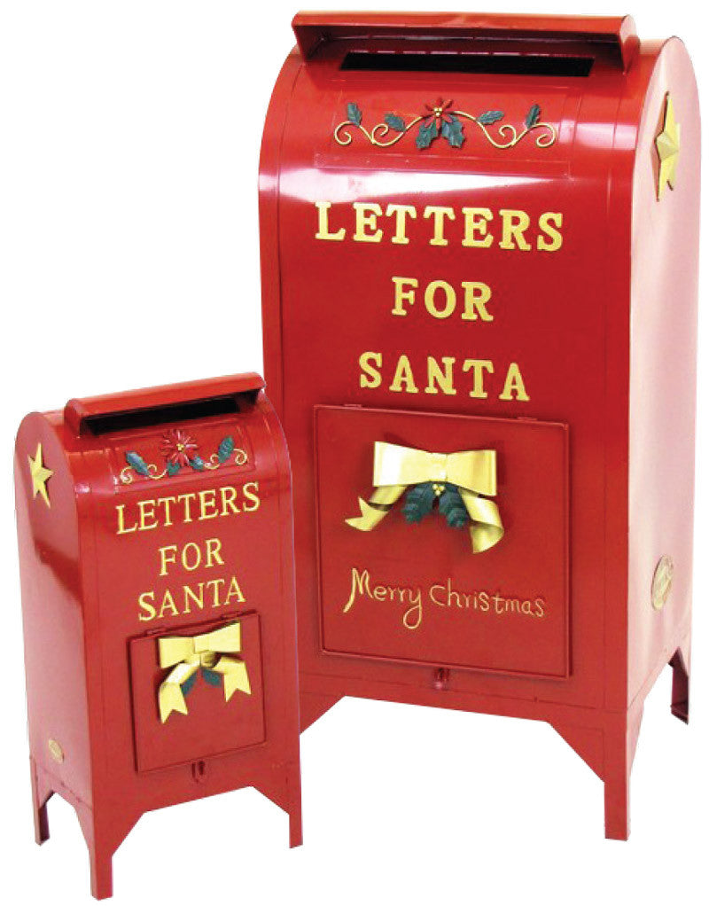 Metal Letters for Santa Mailbox Prop