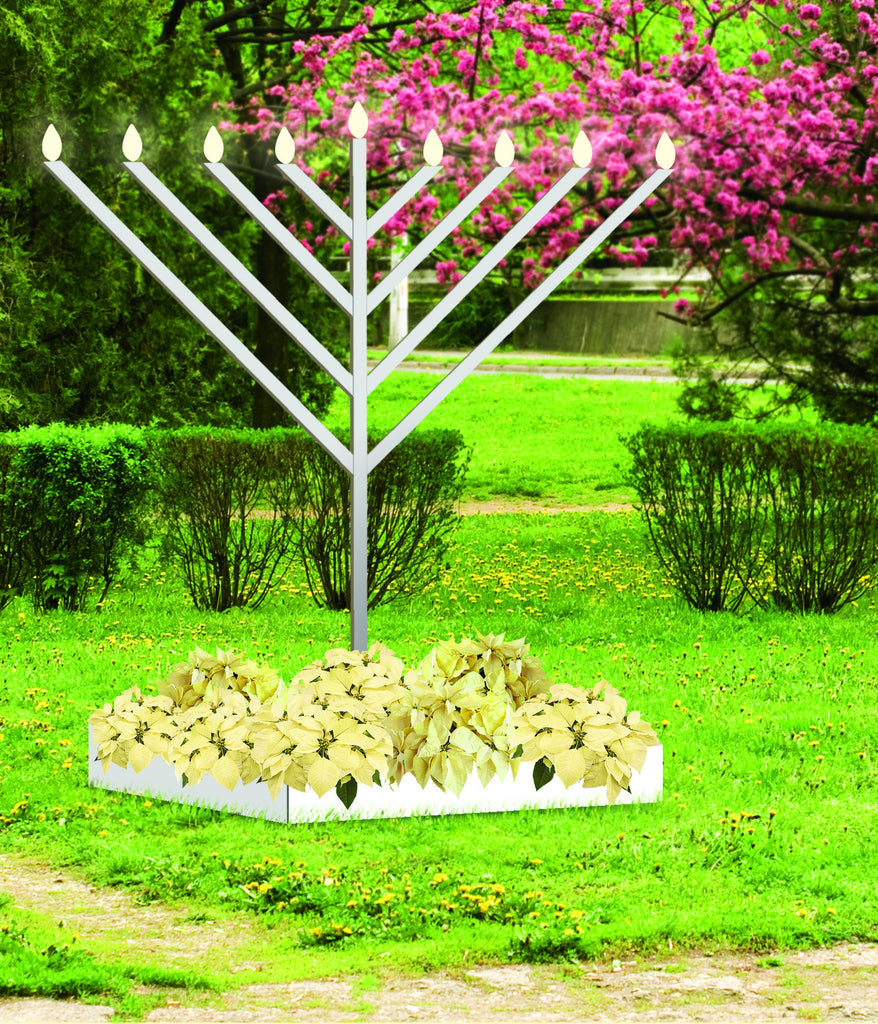 Giant Outdoor Menorah