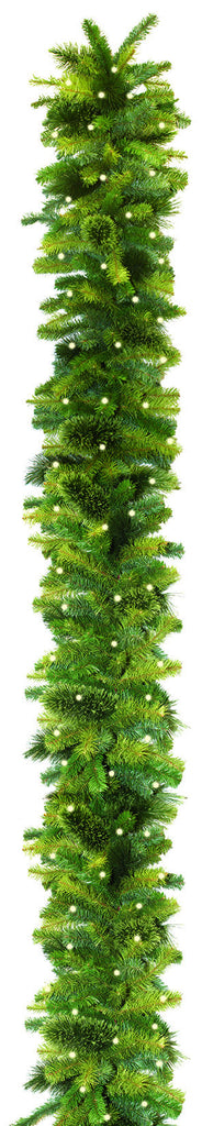 Deluxe Mixed Foliage Garland - 10' Length x 18""