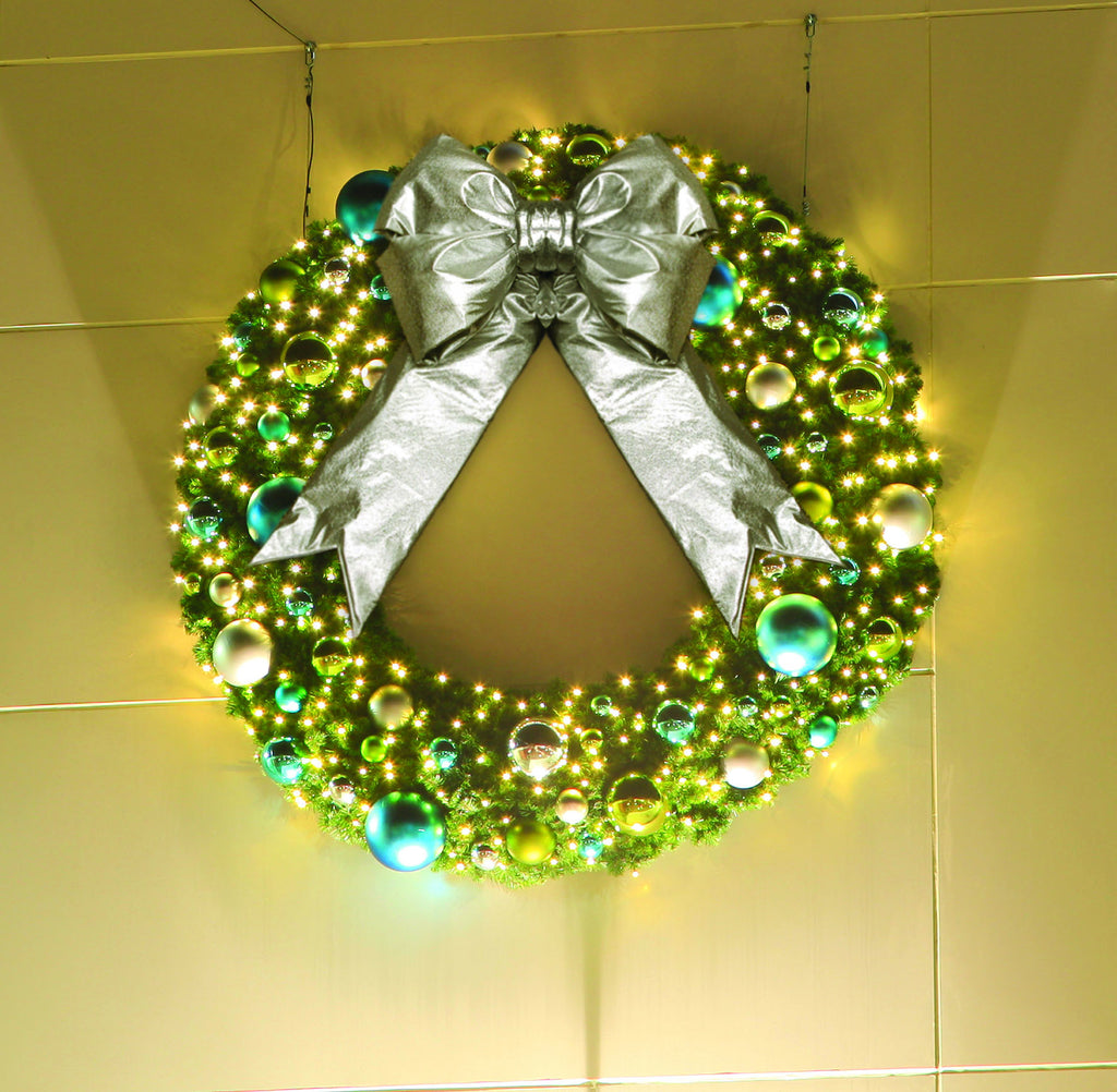Pre Decorated Coastal Theme Christmas Wreath