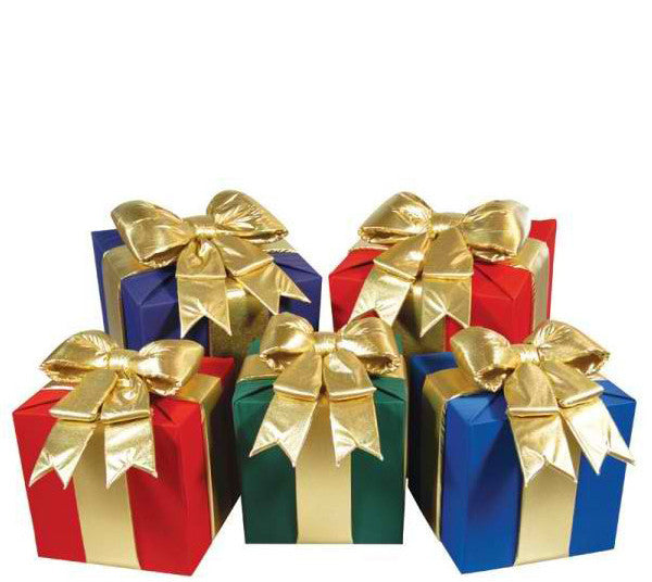 Large Gift Boxes With Bow Decor