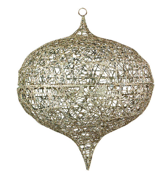 Onion Shaped Ornament Cage