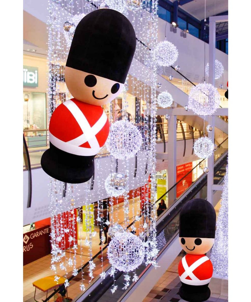 Indoor Mall Giant Hanging Toy Soldier Inflatable