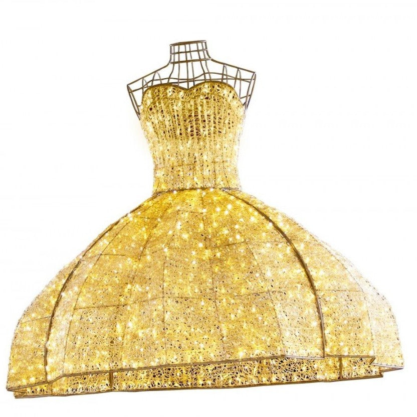 Overhead Retail LED Dress Decoration