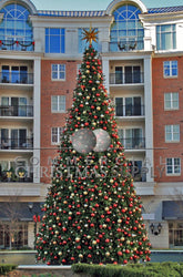 Giant Decorated Tree - Alternating Ornaments