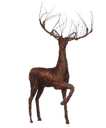 Prancing Buck Deer Lawn Decor