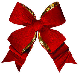 Red Brocade Bow