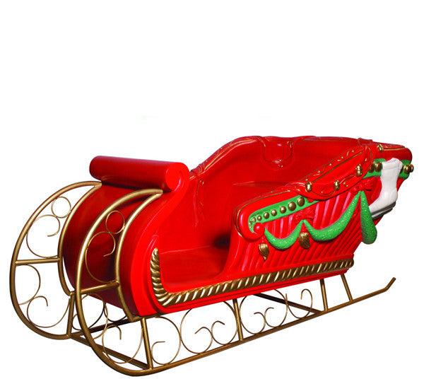 Deer pulling Santa's sleigh, Fawn, Sled, Santa Claus PNG Image for ...