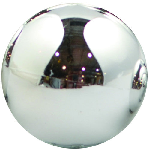 Silver Shiny UV Treated Ball Ornament